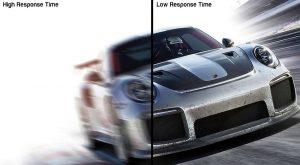 High response time vs low response time