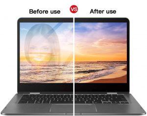 anti-glare screen