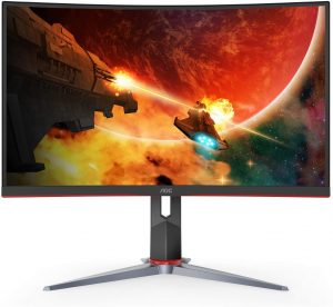 AOC C32G2 32 Inch Curved Frameless Gaming Monitor