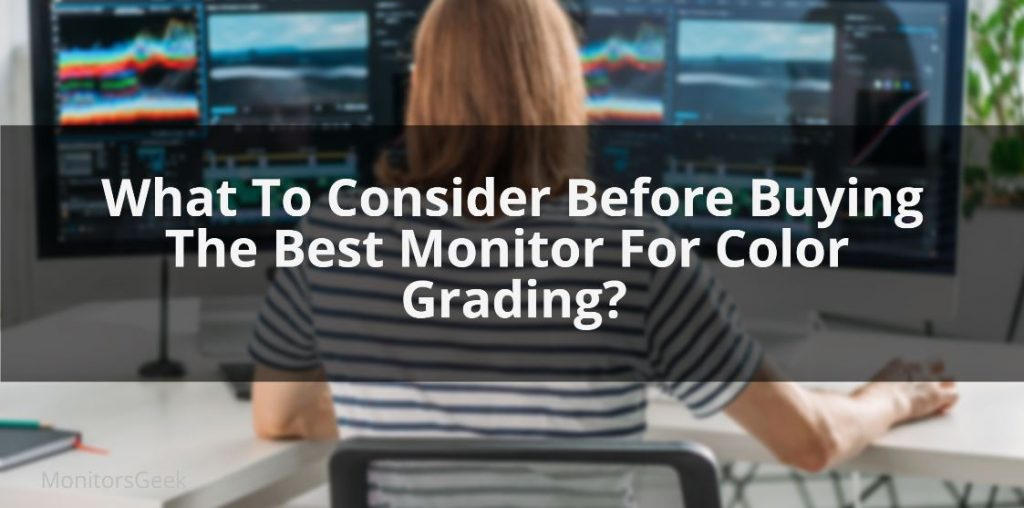Best color grading monitor