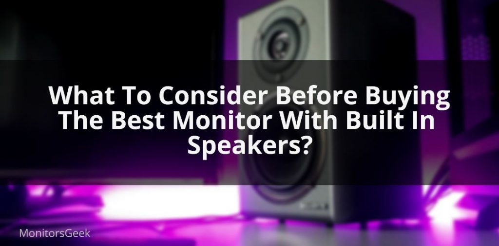 Monitor-with-speakers
