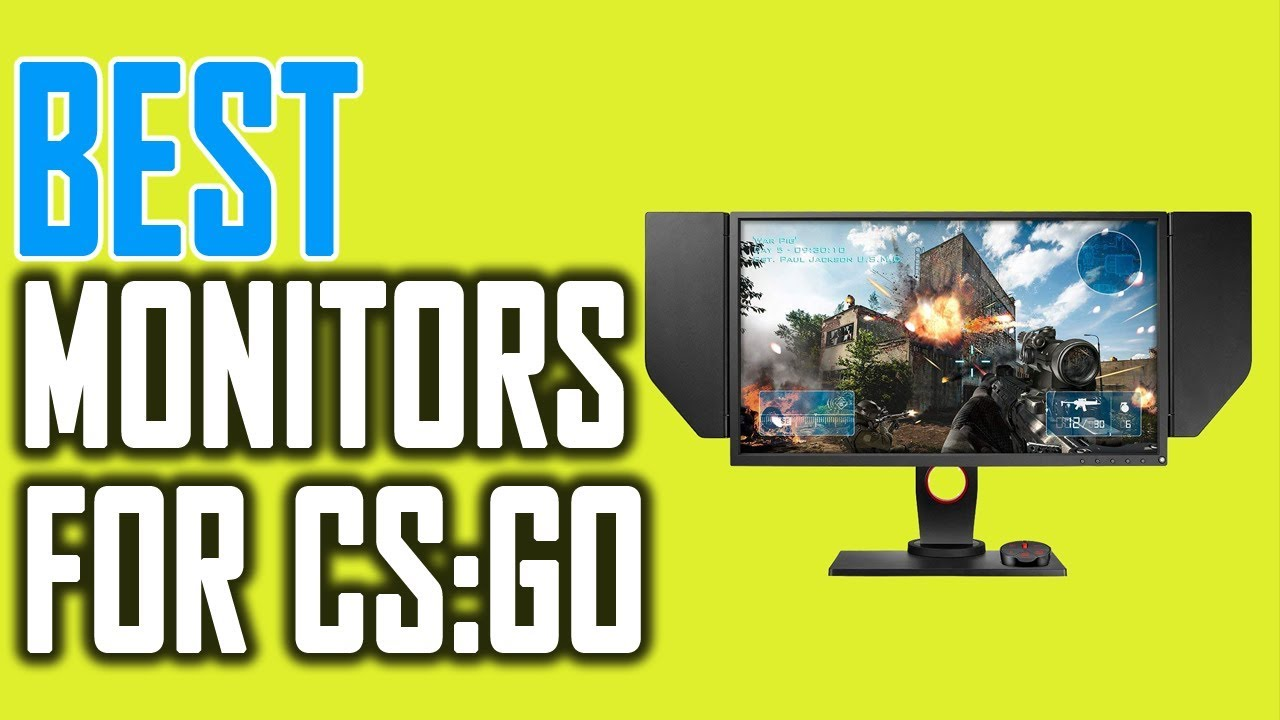 5 Best monitors for CS:GO ( Counter Strike Global Offensive) 2021
