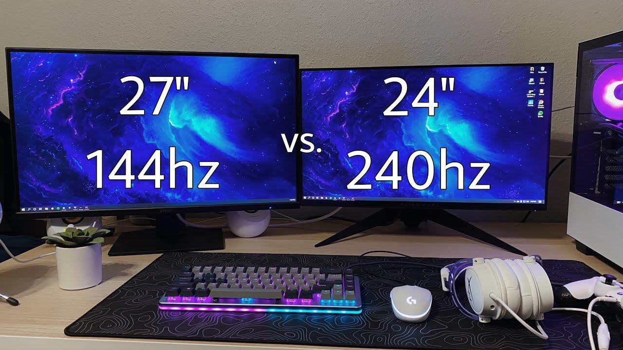 Monitor Screen Size Comparison