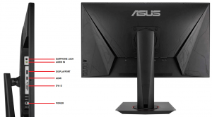 ASUS VG278Q 27 inch Full HD 1080P